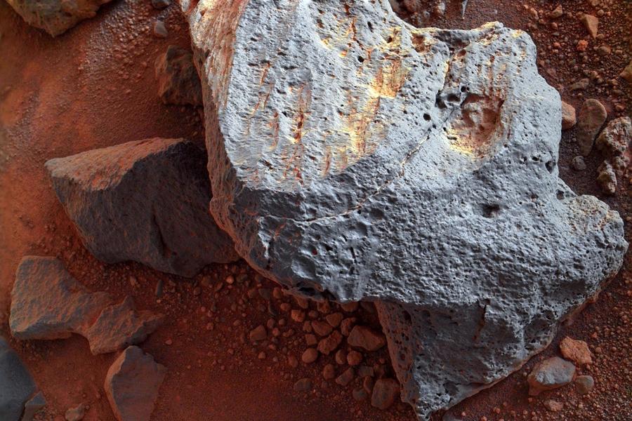 Свойства камней Марса